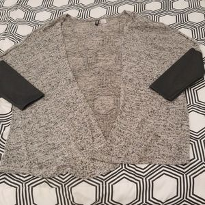 H&M Gray/Black Cardigan